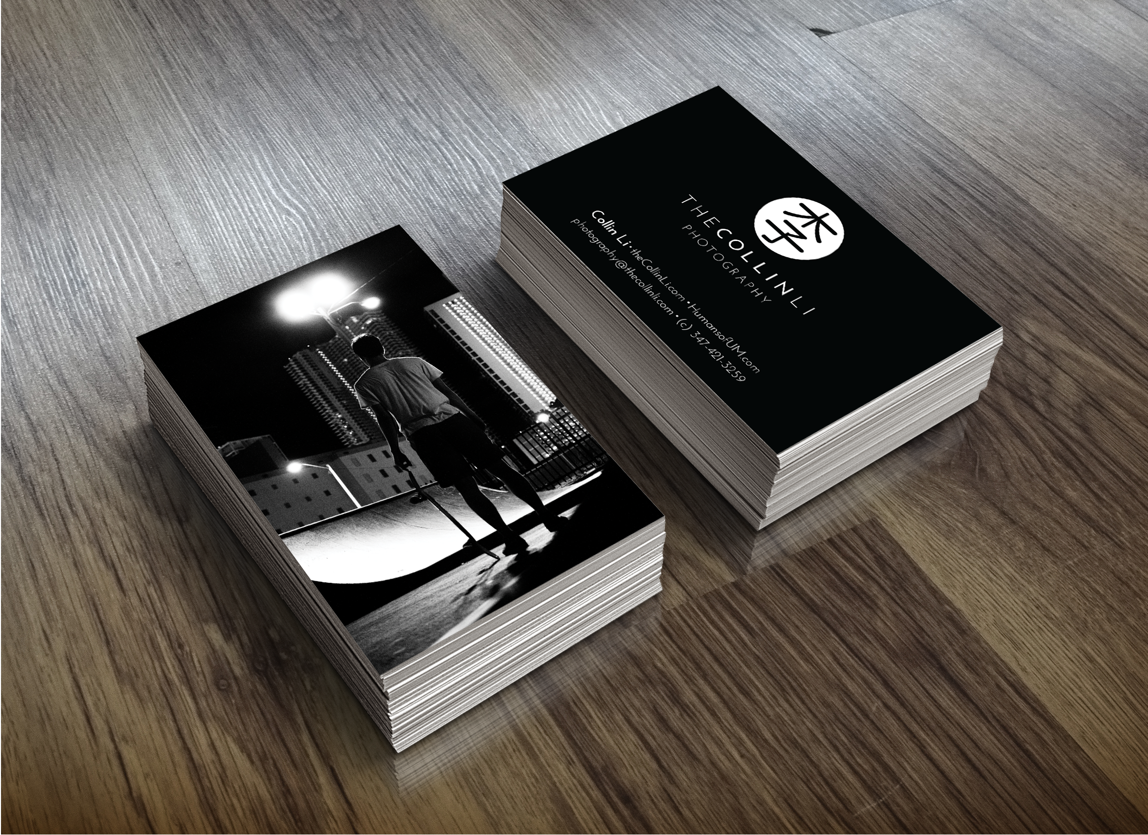 Street Photography Business Cards Images - Card Design And Card Template